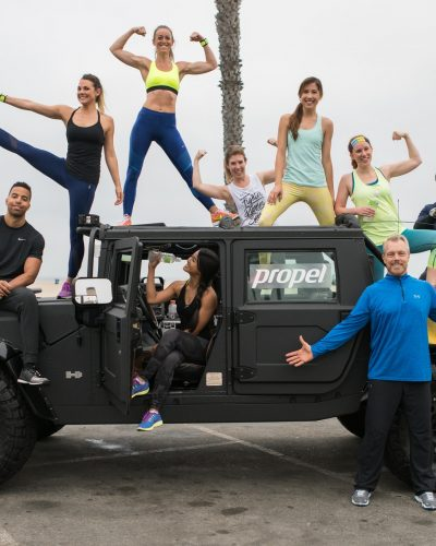 Working Out With Propel In Los Angeles