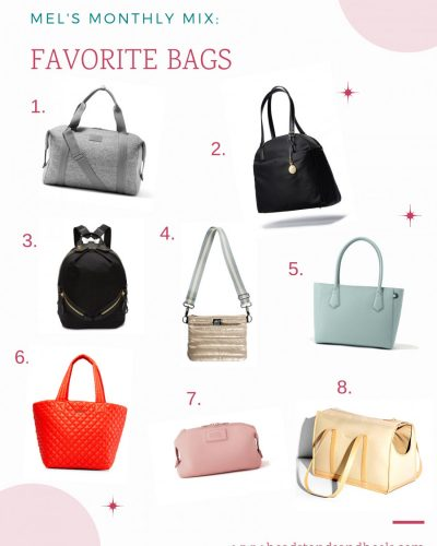 My Favorite Bags for Every Occasion