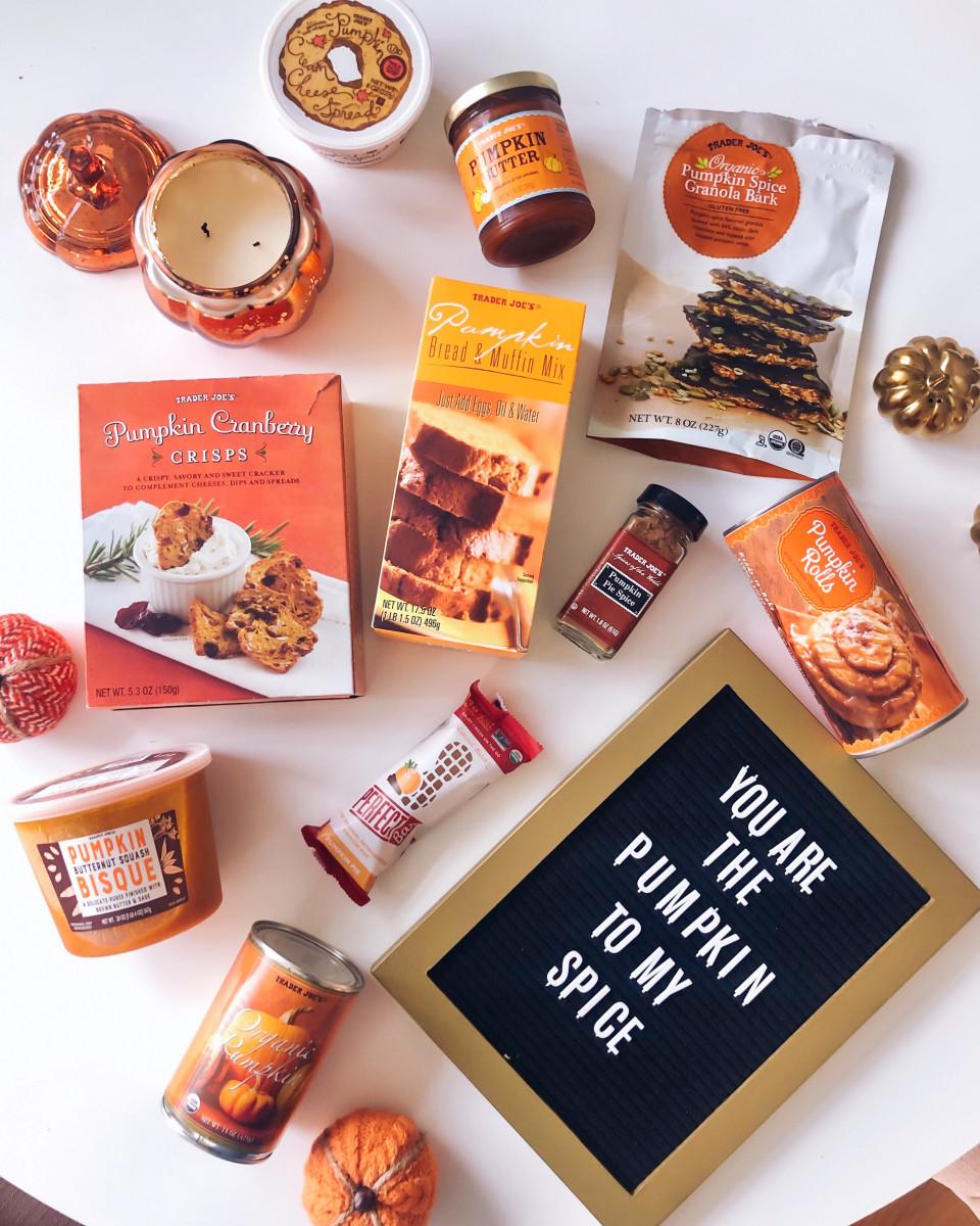 Favorite Pumpkin Products at Trader Joes
