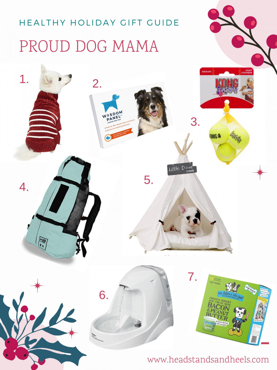 Healthy Holiday Gift Guide: Proud Dog Mama