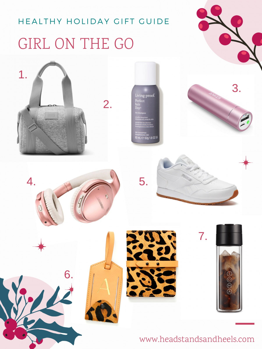 Healthy Holiday Gift Guide: Girl on the Go