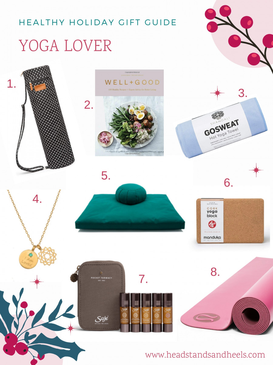 Healthy Holiday Gift Guide: Yoga Lover