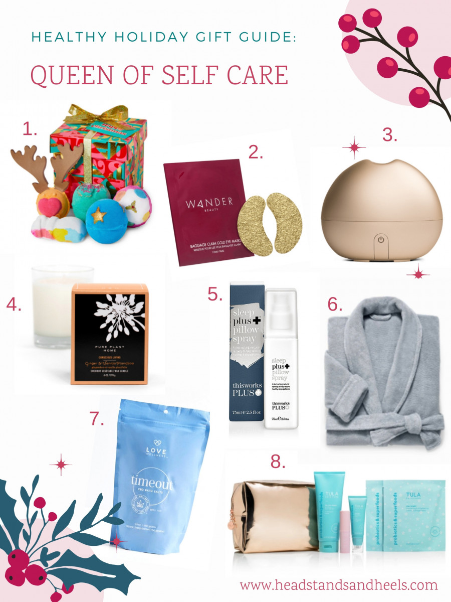 Healthy Holiday Gift Guide: Queen of Self Care