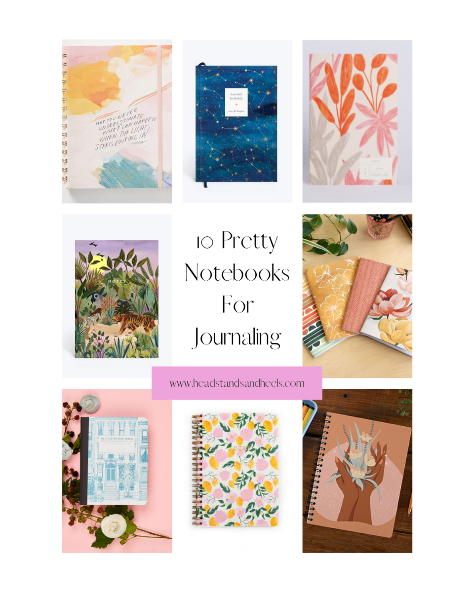 Pretty Notebooks for Journaling