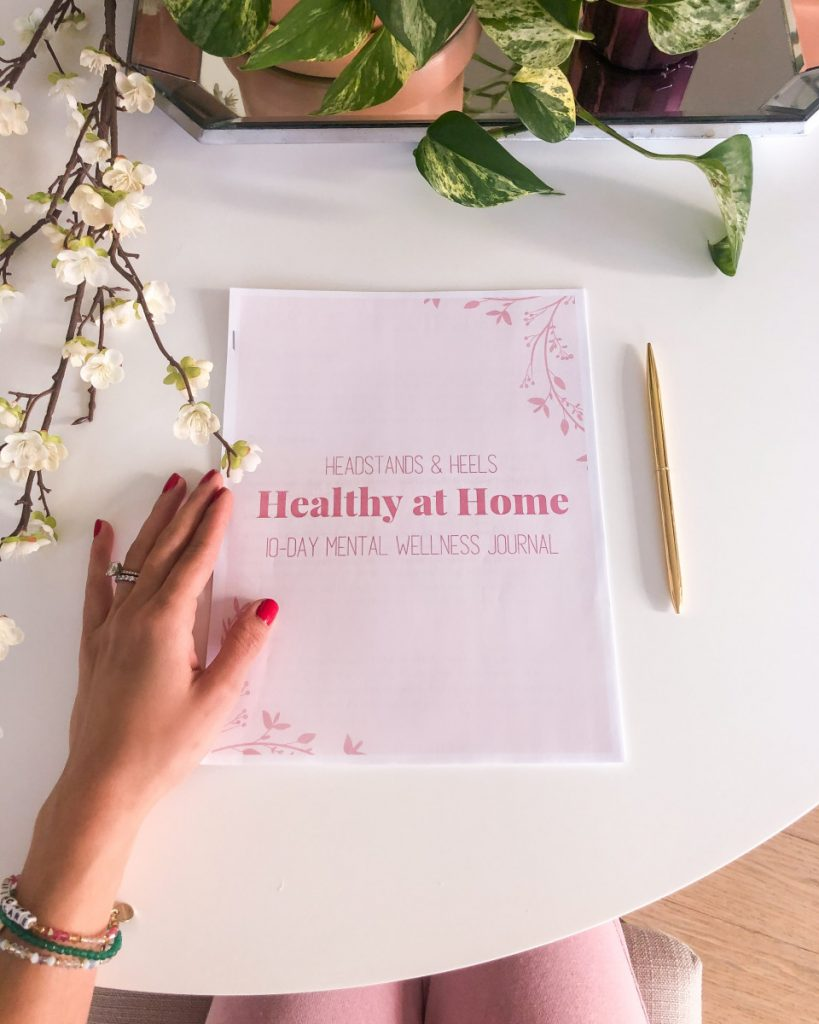 How to start a consistent journaling practice for self care